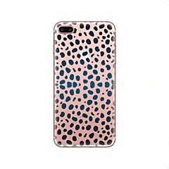 tanie Etui do iPhone 7-Kılıf Na Apple iPhone X iPhone 8 Przezroczyste Wzór Czarne etui Cętki Miękkie TPU na iPhone X iPhone 8 Plus iPhone 8 iPhone 7 Plus iPhone