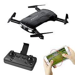 billiga Quadcopter-RC Drönare FQ777 FQ777-05 4 Kanaler 6 Axel 2.4G WIFI Med 720P HD-kamera Radiostyrd quadcopter LED-belysning Retur Med Enkel