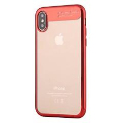 для крышки случая покрывая прозрачную заднюю крышку случая сплошной цвет мягкий tpu для яблока iphone x iphone 8 плюс iphone 8 iphone 7