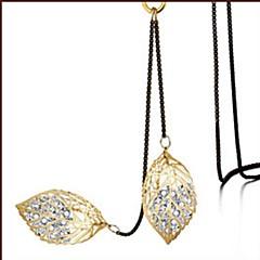 Жен. Ожерелья с подвесками Кристалл В форме листа Хрусталь Сплав Классика Elegant Бижутерия Назначение Повседневные