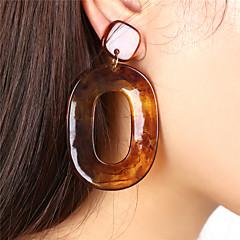 preiswerte Ohrringe-Damen Tropfen-Ohrringe / Kreolen - überdimensional Schokolade / Kaffee / Oberfläche Für Party / Formal
