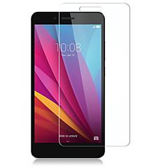 baratos -Protetor de Tela para Huawei Huawei Honor 5X Vidro Temperado Protetor de Tela Frontal Alta Definição (HD) Dureza 9H Borda Arredondada 2.5D