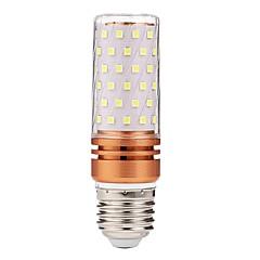10W E27 Ampoules Bougies LED 84 diodes électroluminescentes SMD 2835 Décorative Blanc *lm 6000-6500K AC 85-265V