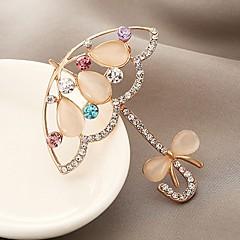Heren Dames Broches imitatie Diamond Aanbiddelijk Klassiek Zirkonia Legering Sieraden Sieraden Voor Dagelijks