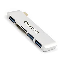 tanie Kable USB-Cwxuan USB 3.1 Typ C Adapter, USB 3.1 Typ C to USB 3.0 Adapter Męski-Żeński 5.0 Gbps