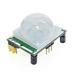 お買い得  センサー-焦電型赤外線PIRモーションセンサーDetectorモジュール
