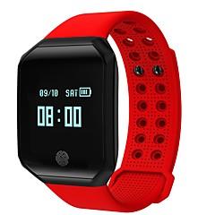 billige Elegante ure-hhy nye z66 smart bluetooth sport armbånd hjertefrekvens blodtryk søvn overvågning oplysninger opkalds id ip67 vandtæt