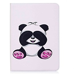 cheap Tablet Cases-Case For Samsung Galaxy Tab S2 9.7 Full Body Cases Tablet Cases Panda Hard PU Leather for