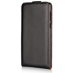 for case cover flip full body case solid farge hardt ekte lær for Nokia nokia 8 nokia 6 nokia 5