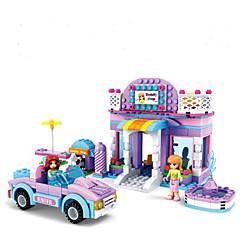 Bausteine Spielzeuge Haus Häuser Fahrzeuge Fantasie Freunde Mädchen 368 Stücke