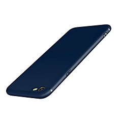 Недорогие Кейсы для iPhone 7-Кейс для Назначение IPhone 7 Apple iPhone 7 Матовое Кейс на заднюю панель Сплошной цвет Мягкий Силикон для iPhone 7