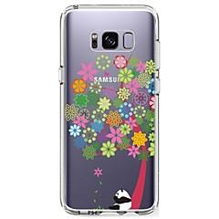 Etui Til Samsung Galaxy S8 Plus S8 Ultratyndt Transparent Mønster Bagcover Træ Panda Blødt TPU for S8 S8 Plus S7 edge S7 S6 edge plus S6