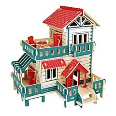 Sets zum Selbermachen 3D - Puzzle Holzpuzzle Logik & Puzzlespielsachen Spielzeuge Burg Haus Tiere 3D Häuser Mode Kinder Schlussverkauf