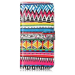 tanie Galaxy S6 Etui / Pokrowce-Kılıf Na Samsung Galaxy S8 Plus S8 Etui na karty Portfel Z podpórką Flip Wzór Pełne etui Linie / fale Twarde Skóra PU na S8 Plus S8 S7