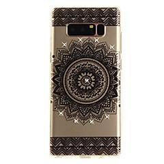Kılıf Na Note 8 Stras Ultra cienkie Przezroczyste Wzór Etui na tył Koronka Printing Miękkie TPU na Note 8 Note 5 Edge Note 5 Note 4 Note