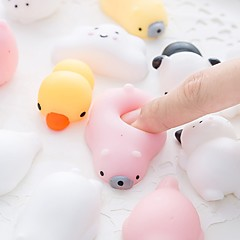 Squeeze Toy Stress Relievers Toys Stress and Anxiety Relief Office Desk Toys Strange Toys Animal Pieces Gift