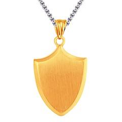 Муж. Жен. Ожерелья с подвесками Бижутерия Бижутерия Нержавеющая сталь По заказу покупателя Rock Бижутерия Назначение Для вечеринок