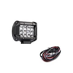 abordables Iluminación para Vehículos Industriales-Coche Bombillas SMD 3030 3600 lm 12 Luz de Trabajo Para