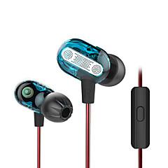 3.5mm 이어 버드 2 배 열병합 하이파이 헤드셋 귀마개