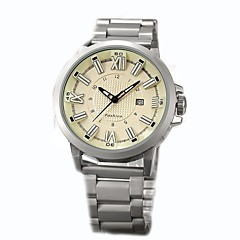 Men's Casual Watch Fashion Watch Dress Watch Wrist watch Unique Creative Watch Chinese Quartz Calendar / date / day Chronograph Water
