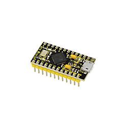 お買い得  マザーボード-keyestudioプロマイクロatmega32u4 arduinoのためのレオナルドのための2行のピンヘッダーと3.3v / 8mhz開発ボード