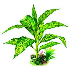 お買い得  アクアリウムデコレーション-アクアリウムの装飾 植物 セラミック ファブリック