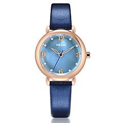 preiswerte Tolle Angebote auf Uhren-KEZZI Damen Modeuhr / Armbanduhr Japanisch Armbanduhren für den Alltag PU Band Freizeit / Elegant Schwarz / Weiß / Blau