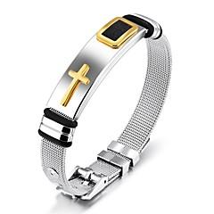Недорогие Браслеты-Муж. Браслет цельное кольцо - Золотой Черный Браслеты Назначение Свадьба Для вечеринок
