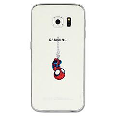 Χαμηλού Κόστους Galaxy S6 Θήκες / Καλύμματα-tok Για Samsung Galaxy S8 Plus S8 Με σχέδια Πίσω Κάλυμμα Κινούμενα σχέδια Μαλακή TPU για S8 S8 Plus S7 edge S7 S6 edge plus S6 edge S6