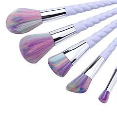 5 stuks Brush Sets Synthetisch haar Beugel Kunststof Gezicht