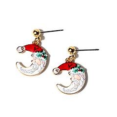 preiswerte Ohrringe-Damen Ohrstecker Kreolen Klassisch Freizeit Zeichentrick lieblich Modisch Aleación Geometrische Form Schmuck Für Weihnachten Festival