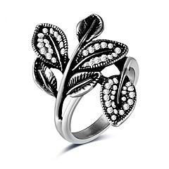 Жен. Массивные кольца Стразы Формальная На каждый день Elegant Cool Мода Сплав Геометрической формы Бижутерия Назначение Повседневные Для