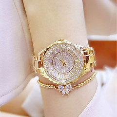 cheap Women's Watches-Women's Wrist Watch Japanese Quartz 30 m Casual Watch Stainless Steel Band Analog Charm Silver / Gold - Gold Silver