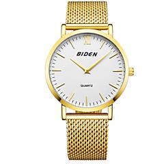preiswerte Tolle Angebote auf Uhren-Herrn Armbanduhr Japanisch Armbanduhren für den Alltag Edelstahl Band Freizeit / Modisch / Elegant Schwarz / Silber / Gold