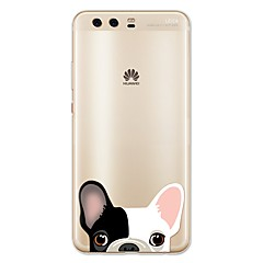 Case Kompatibilitás Huawei P10 Lite Minta Hátlap Kutya Puha TPU mert Huawei P10 Plus Huawei P10 Lite Huawei P10 Huawei P9 Huawei P9 Lite