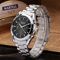 preiswerte Tolle Angebote auf Uhren-Jaragar Herrn Armbanduhr Armbanduhren für den Alltag / Cool Edelstahl Band Freizeit / Modisch Schwarz / Automatikaufzug