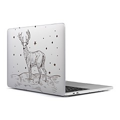 """お買い得  本日のスペシャル-MacBook ケース のために つや消し クリスマス プラスチック 材料 新MacBook Pro 15"""" 新MacBook Pro 13"""" MacBook Pro 15インチ MacBook Air 13インチ MacBook Pro 13インチ MacBook Air"""