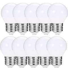 10pcs 4W E27 Ampoules Globe LED A15 10 diodes électroluminescentes SMD 5730 Lampe LED Blanc Chaud Blanc Froid 400lm 2700/6500K AC 85-265V