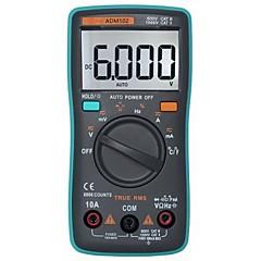 multímetro digital zt102 6000 contagem auto range-green