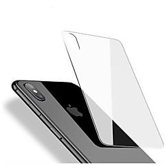 Недорогие Защитные пленки для iPhone X-Защитная плёнка для экрана Apple для iPhone X Закаленное стекло 1 ед. Защитная пленка для задней панели Против отпечатков пальцев Защита
