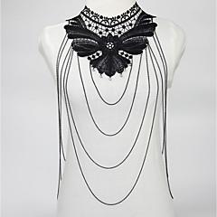 Χαμηλού Κόστους -Γυναικεία Κοσμήματα Σώματος Body Αλυσίδα / κοιλιά Αλυσίδα Σέξι Κοσμήματα με στυλ Flower & Bud Κράμα Geometric Shape Κοσμήματα Για Πάρτι