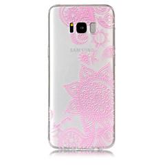 Funda Para Samsung Galaxy S8 Plus S8 Transparente Diseños Cubierta Trasera Impresión de encaje Suave TPU para S8 S8 Plus S7 edge S7 S6