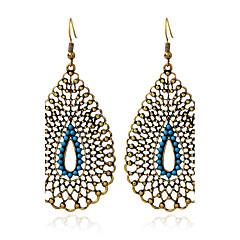 preiswerte Ohrringe-Damen Türkis Tropfen-Ohrringe - Türkis Retro, überdimensional Gold Für Alltag / Normal