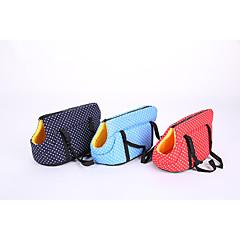 Koira Backpack Lemmikit Tavaratelineet Kannettava Täplä Tumman sininen Punainen Sininen