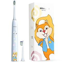 ximalong gyermek kiadás intelligens sonic elektromos fogkefe töltés sonic szenzor vibráló fogkefe baba sonic elektromos fogkefe puha kefe