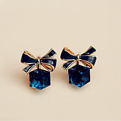 Women's Stud Earrings Crystal Sweet Elegant Crystal Alloy Geometric Jewelry For Party Gift