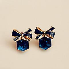 Γυναικεία Κουμπωτά Σκουλαρίκια Κρυστάλλινο Γλυκός Κομψή Κρύσταλλο Κράμα Geometric Shape Κοσμήματα Για Πάρτι