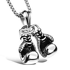 preiswerte Halsketten-Herrn / Damen Anhängerketten - Titanstahl Sport Weiß Modische Halsketten 1 Für Zeremonie, Arbeit