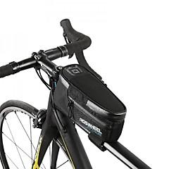 tanie Torby rowerowe-ROSWHEEL Torba rowerowa 1.5L Torba rowerowa na ramę Wodoodporny zamek Torba na rower Nylon Torba rowerowa Kolarstwo Kolarstwo / Rower