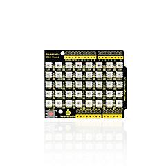 お買い得  ディスプレー-keyestudio 40 rgb led ws2812 arduino用ピクセルマトリックスシールド